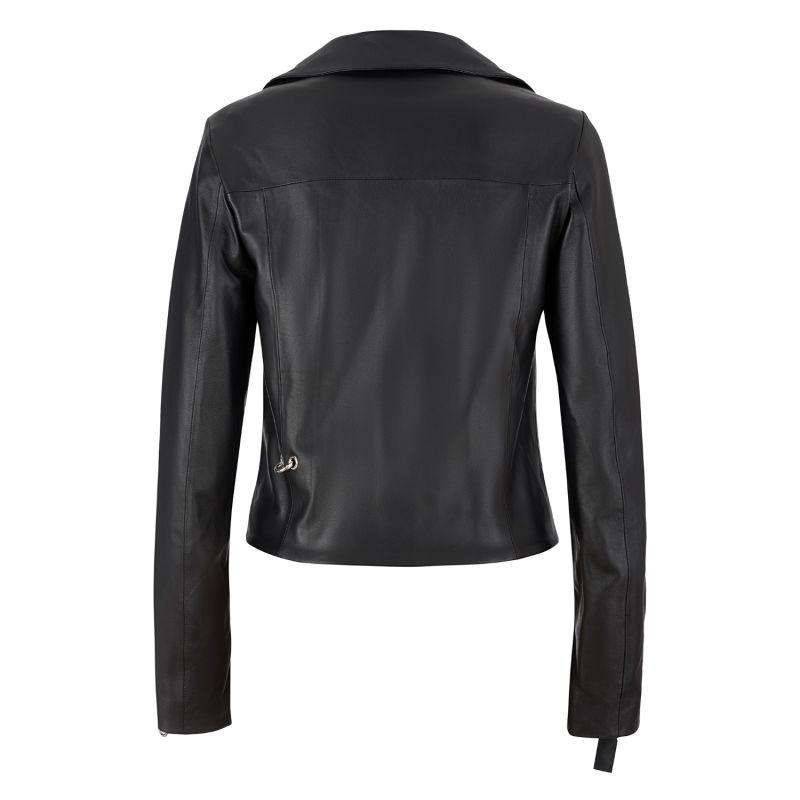 Stamped-in Punkhead Genuine Leather Biker Jacket image
