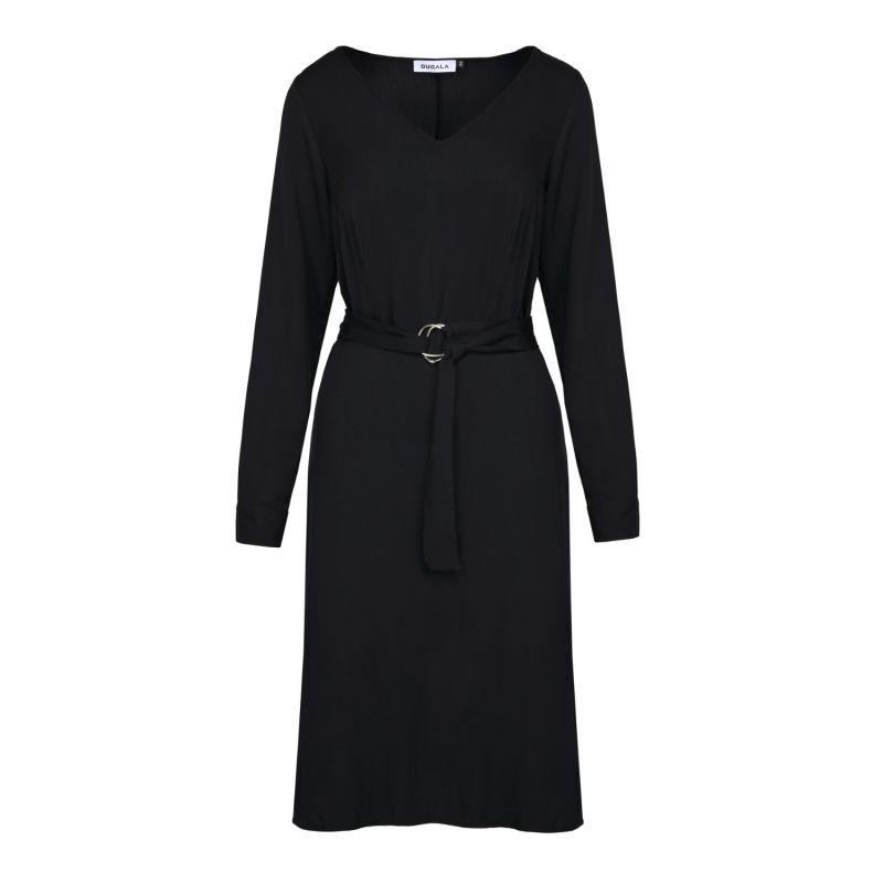 Erina Black Midi Dress image