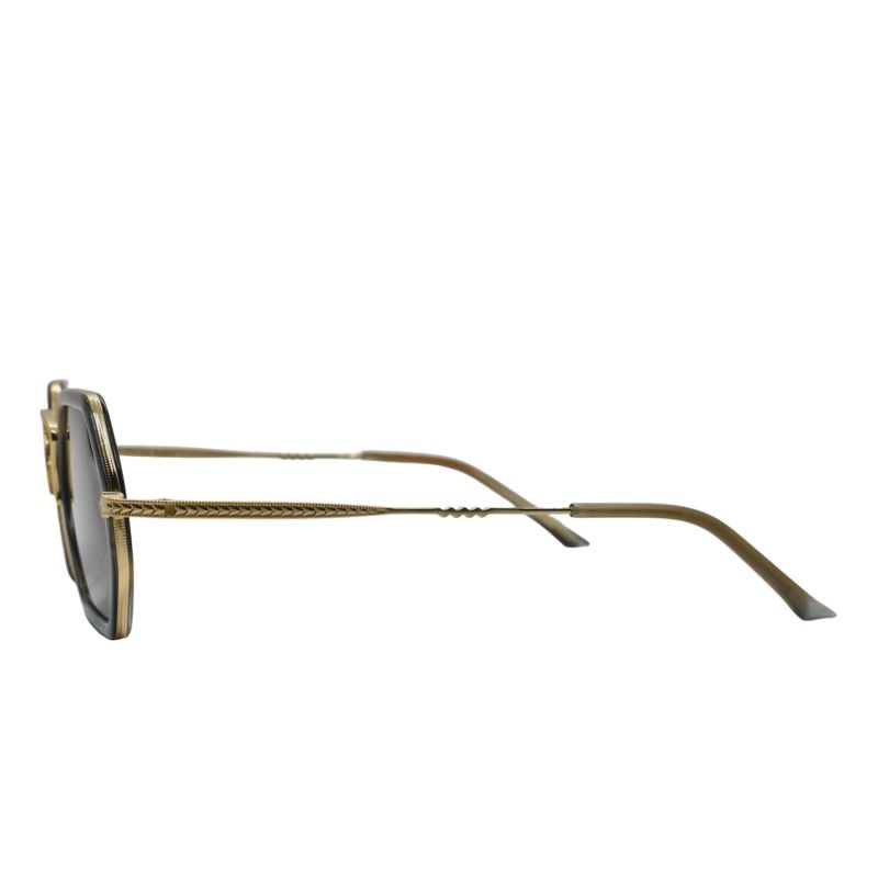 Pch Green Hexagonal Sunglasses image
