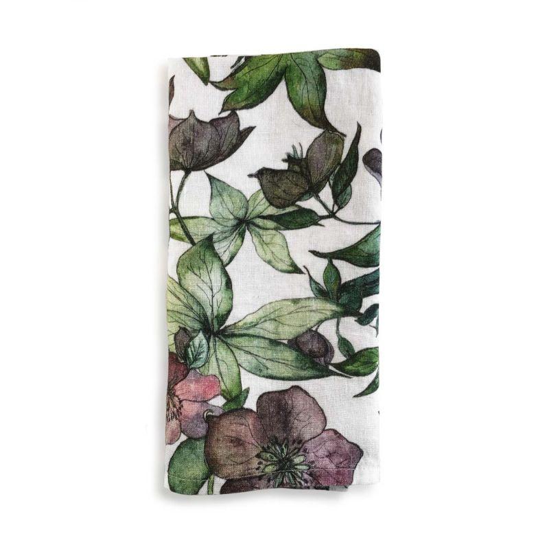 Hellebore Linen Napkin image