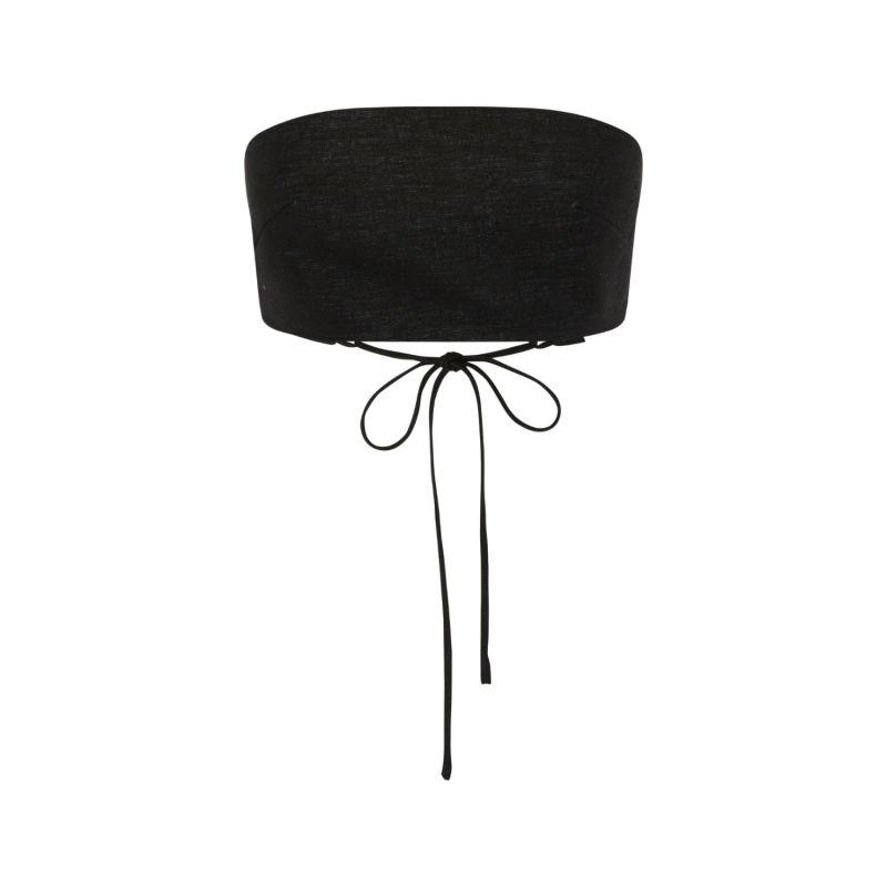Eniola Crop Top - Black image