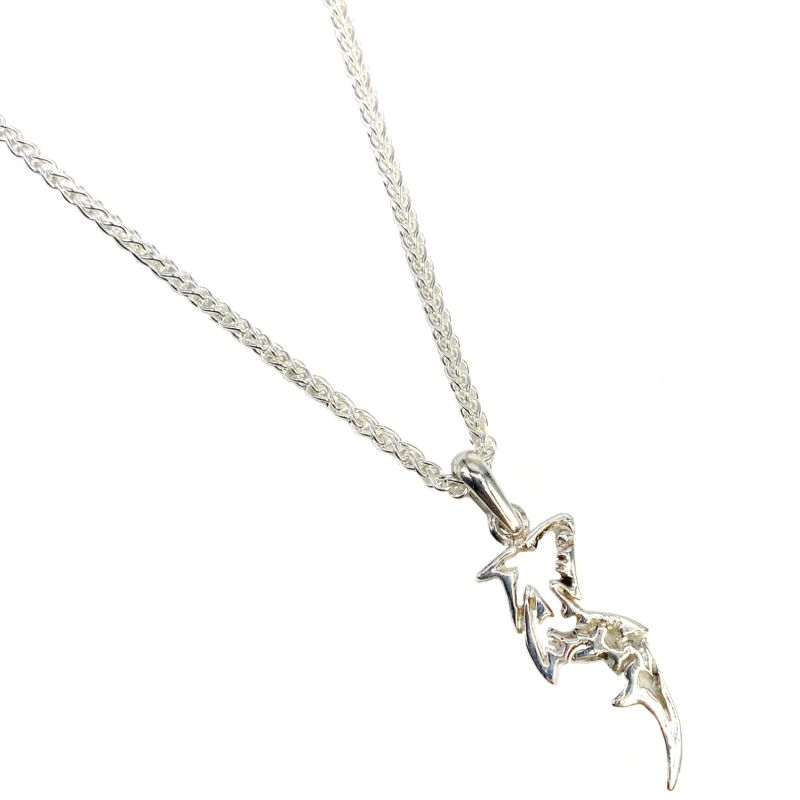 Sterling Silver Rebel Pendant Necklace image