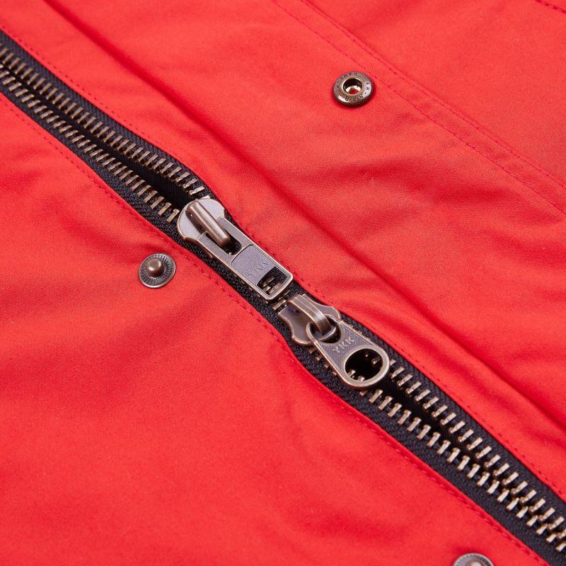 Trinity Wax Jacket - Red image