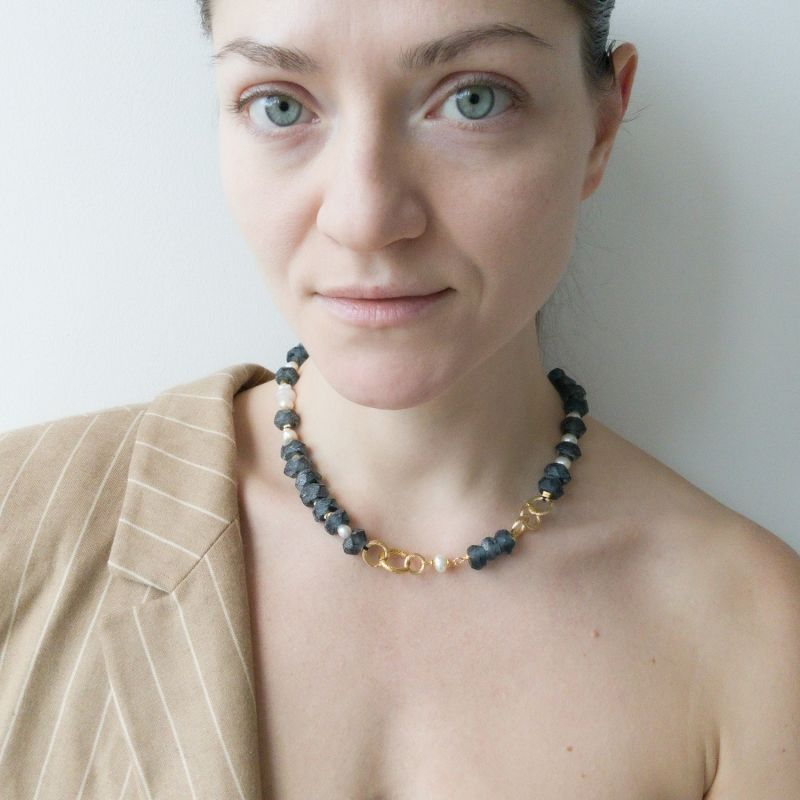 Of Your Choice Versatile Black Necklace image