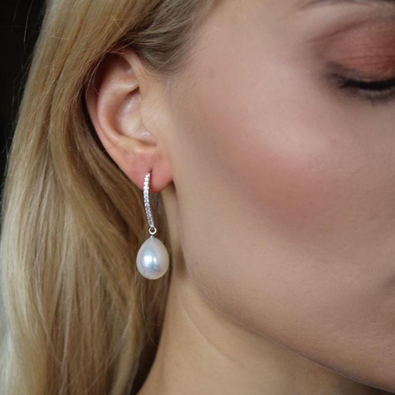 Bijou Mother of Pearl Hook Earrings image