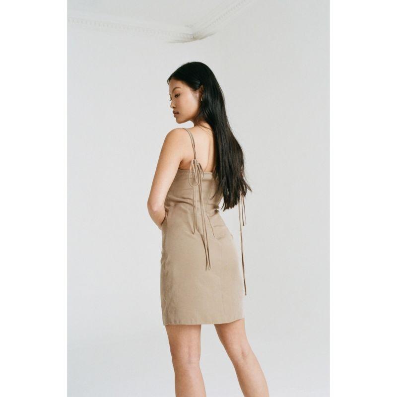 Amara Dress - Brown image