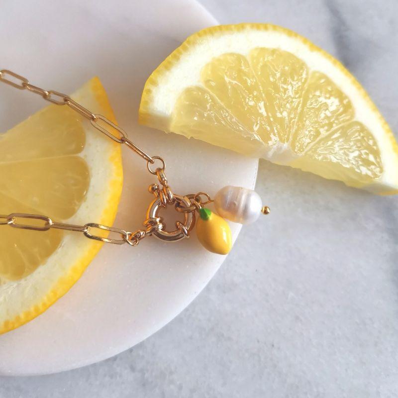 Lemon Chain Necklace image