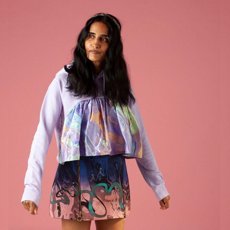 Halley Hoodie Lavender image