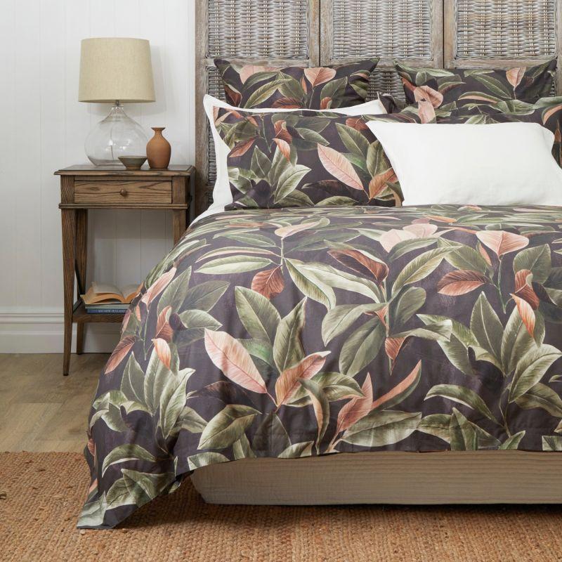 Night Garden Organic Cotton Duvet Set - King image