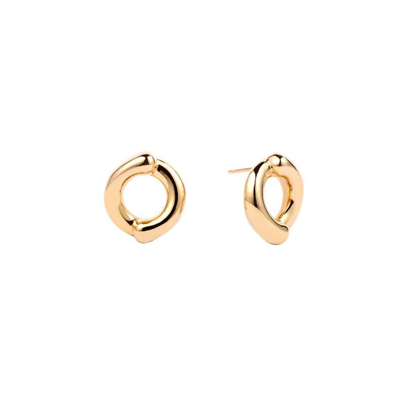 Como Earrings Yellow Gold image