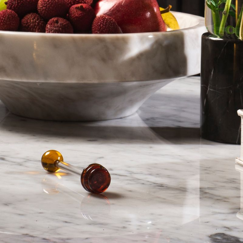 Honey Pot - White Marble image