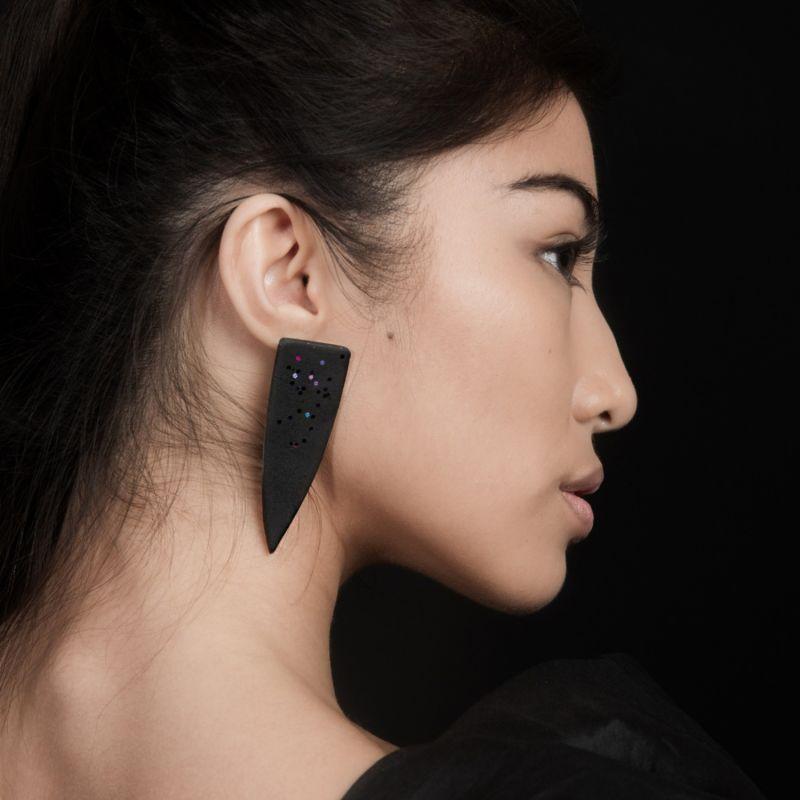 Dagger Statment Earrings image