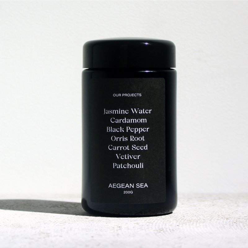 Aegean Sea Candle - Cardamom, Orris Root & Vetiver image