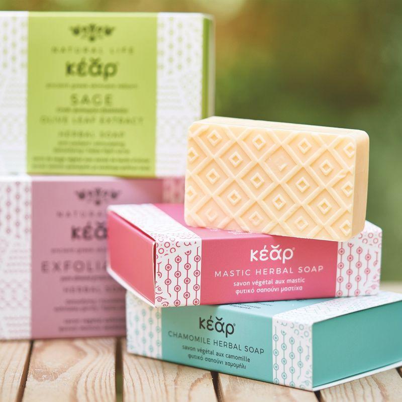 Chamomile Herbal Soap Bar image