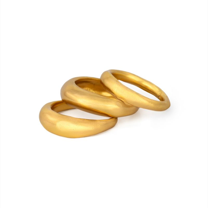Filthy Ring Stack - Gold image