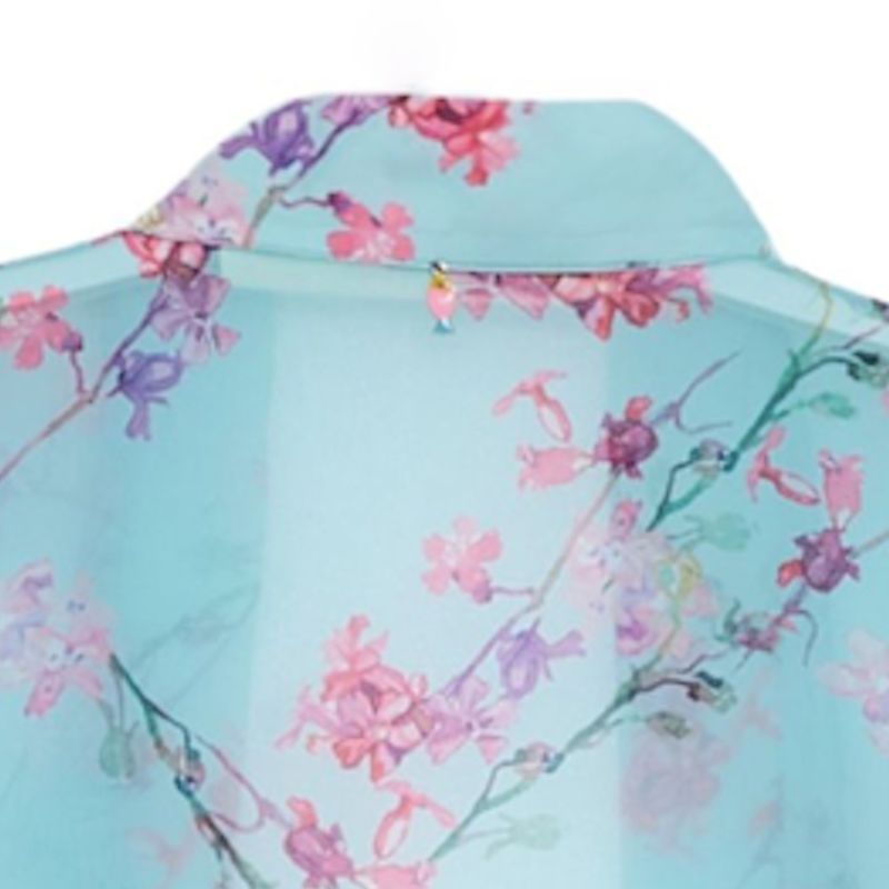 Spring Kimono In Blue image
