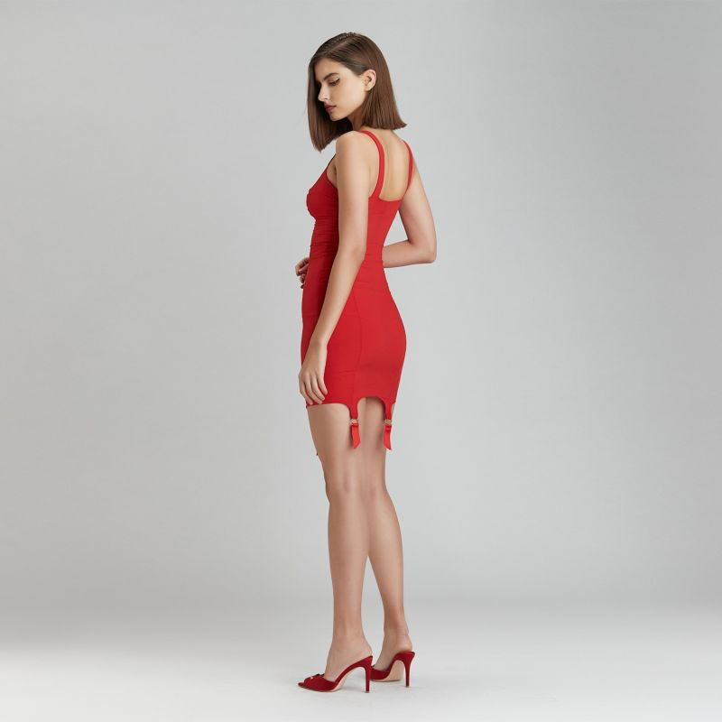 Grid Underdress Red image