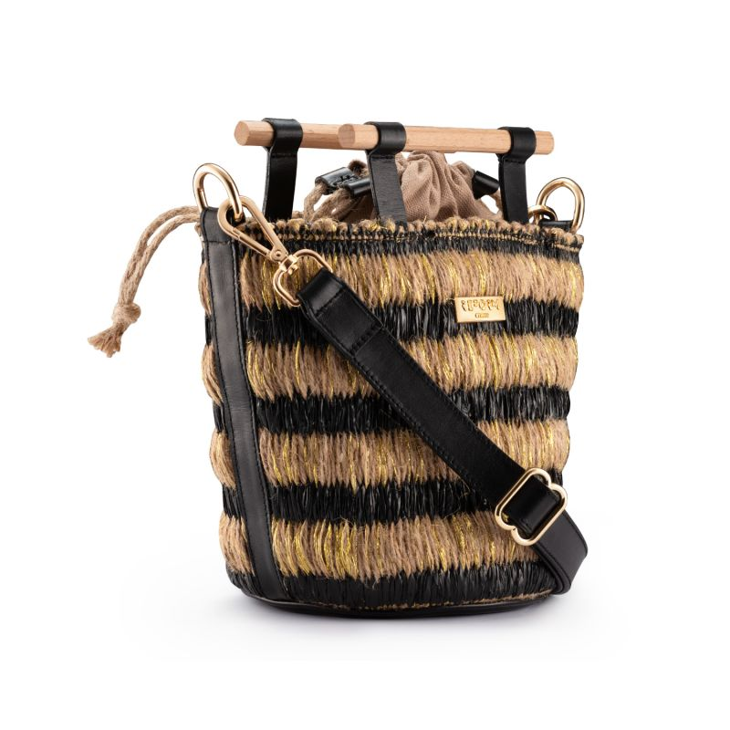 Mini Afro Basket - Black image