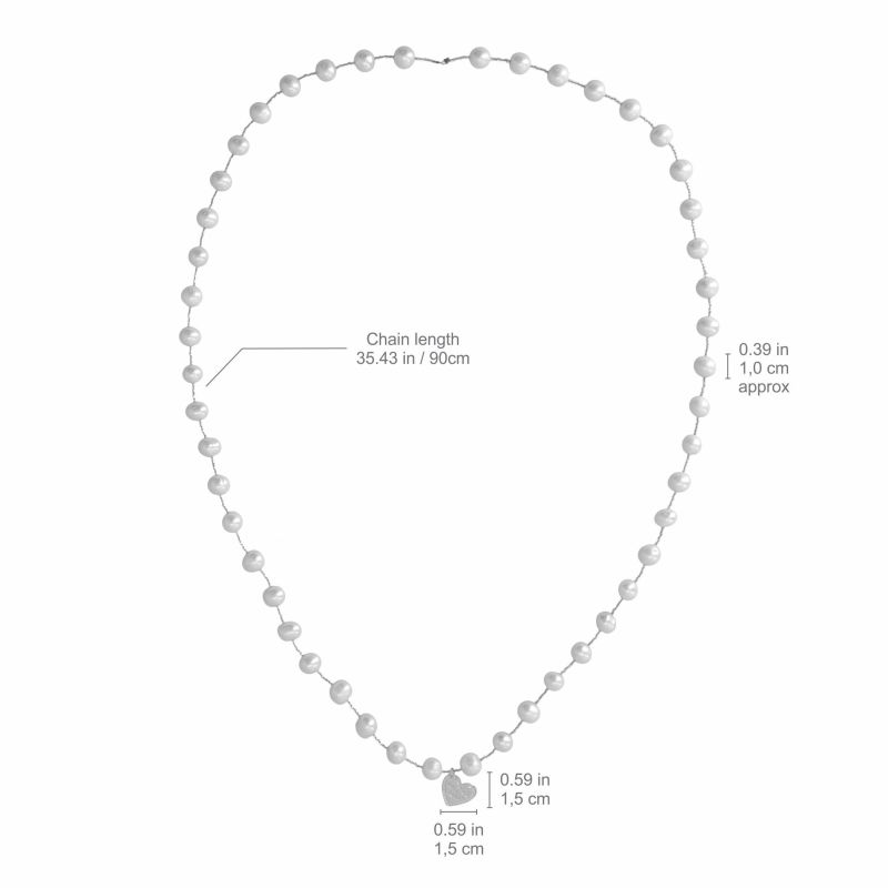 Wishes Pearl Necklace image