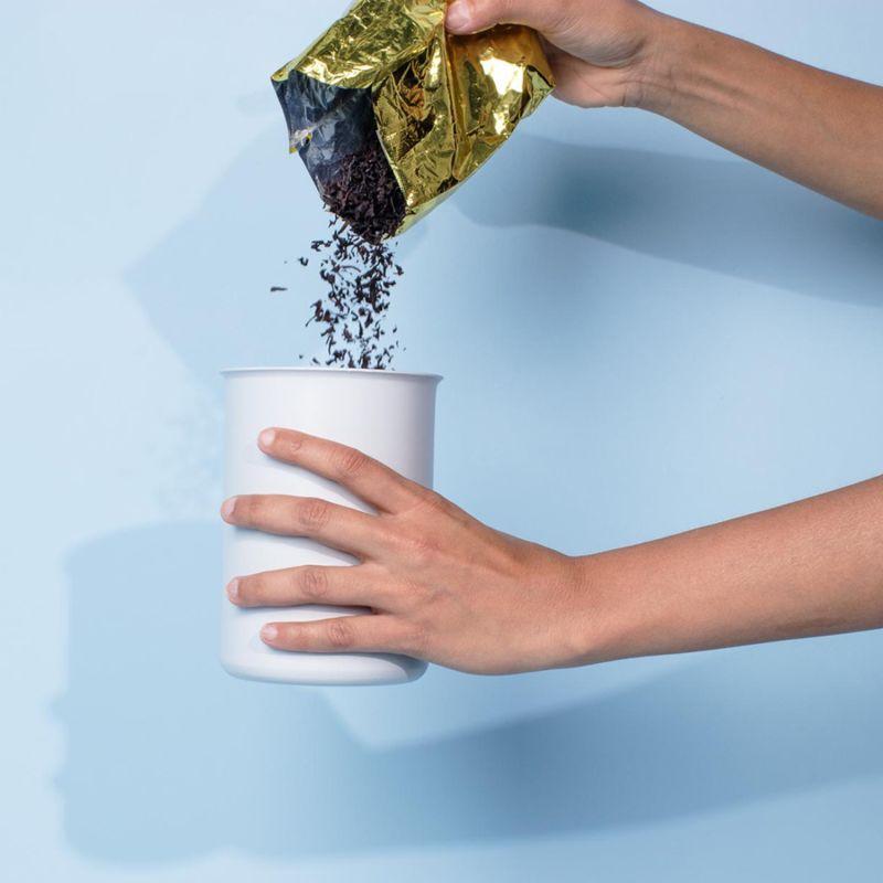 Ayasa Grey Jar, 0.75L image