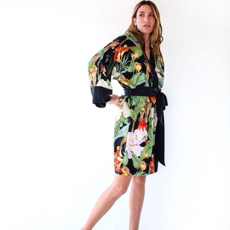Monroe Mini Kimono Robe image