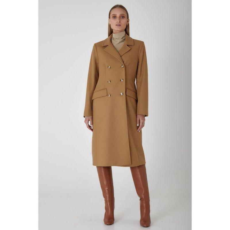 Belmont Wool Cashmere Coat Camel image