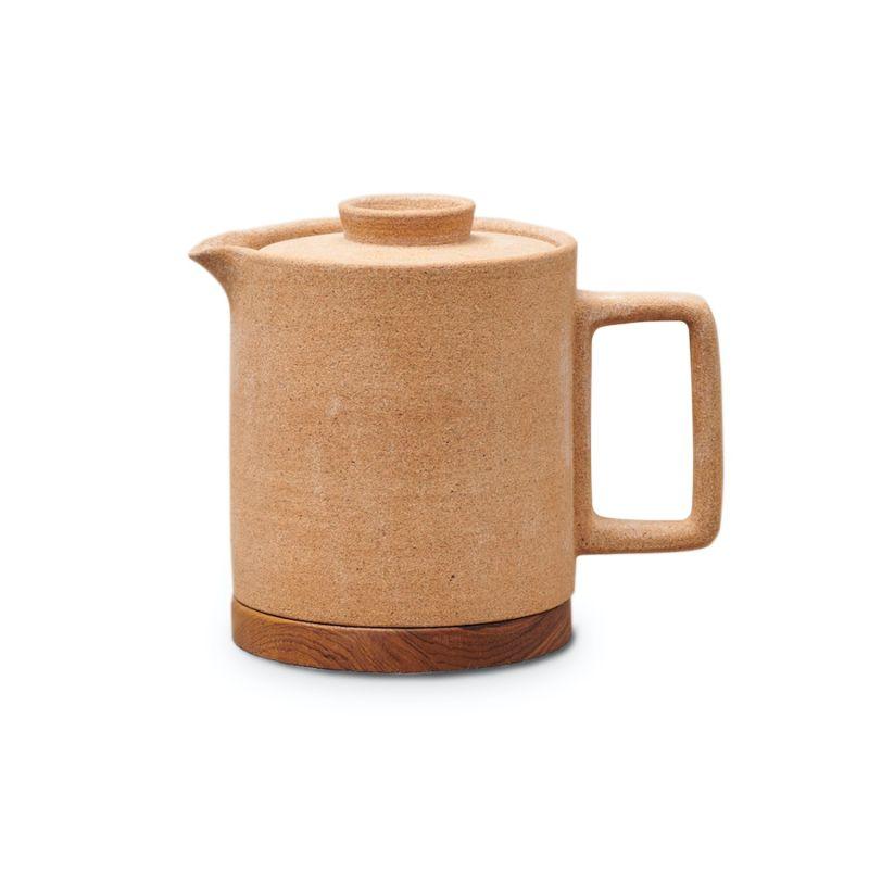 Pasca Ceramic Teapot - Natural Earth Green image