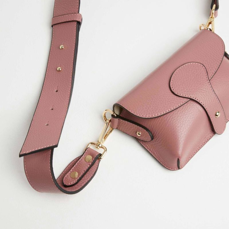 Luca Small Crossbody Bag In Antique Pink image