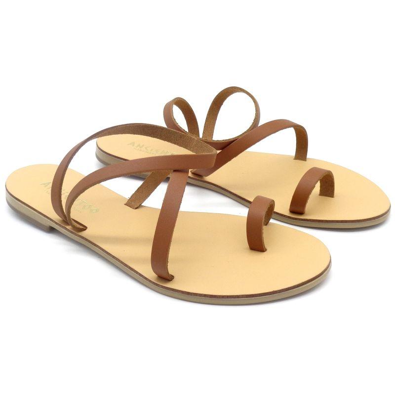 Toe Ring Sandals Mania Tan image