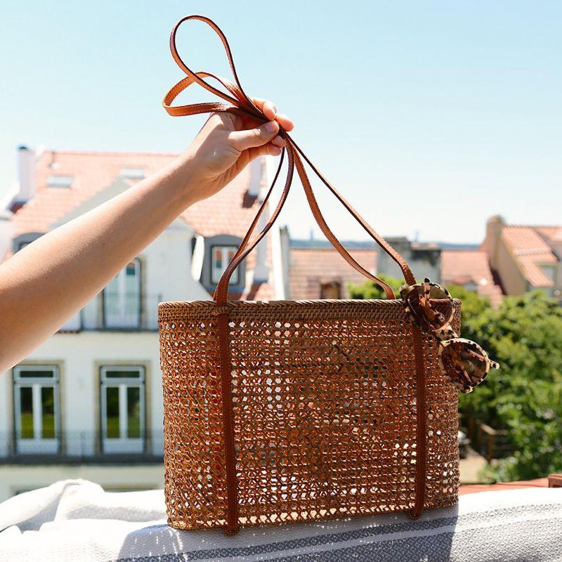 Ayana Raffia Basket Bag image