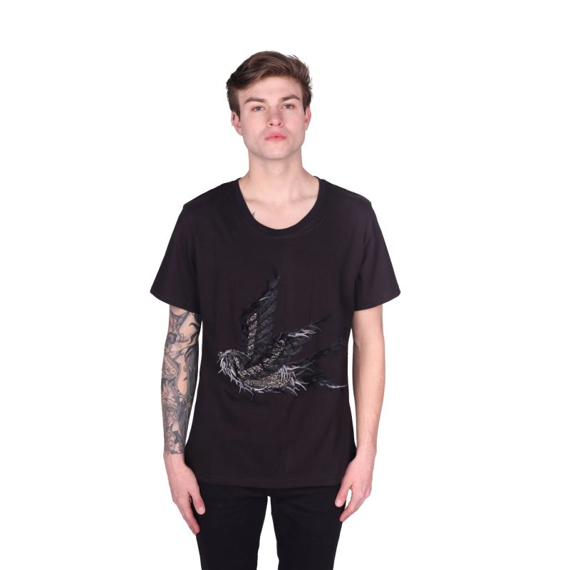 Black Swallow T-Shirt image