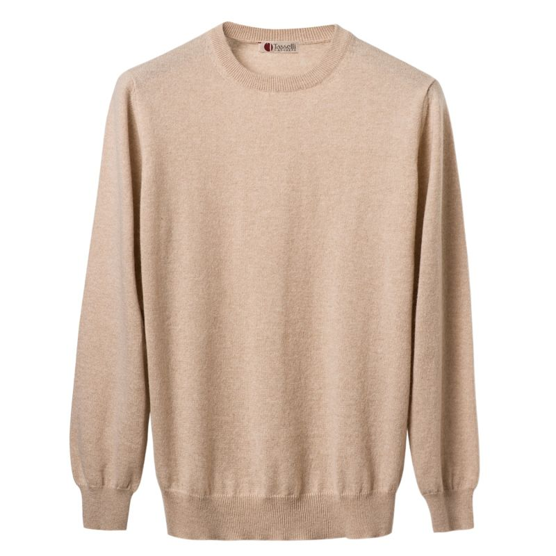 Pure Cashmere Crew Neck Sweater image