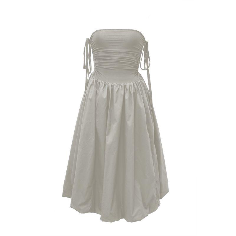 Alexa dress in light grey image