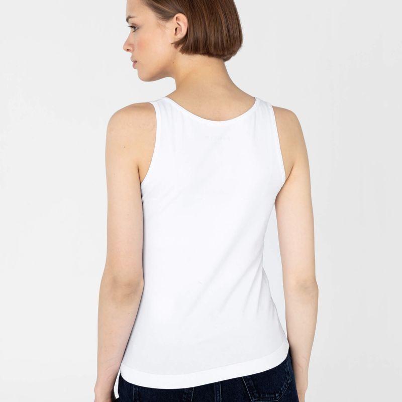 Cotton Vest Top White image