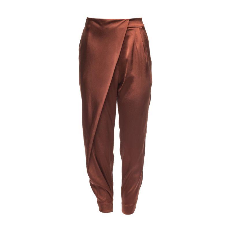 Cristal Wrap Pants Bronze image