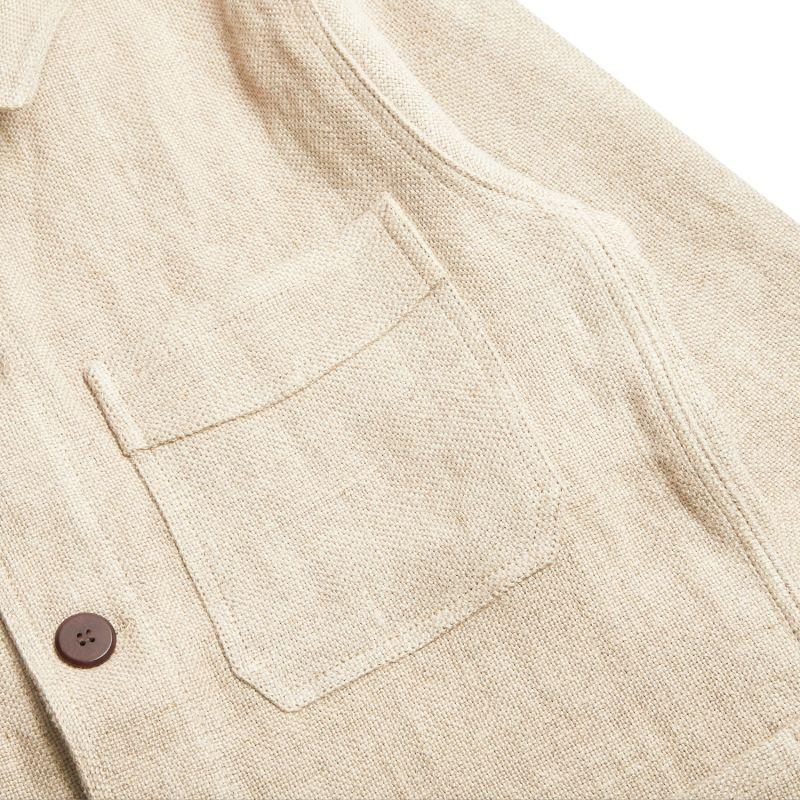 Linen Jacket - Ecru image