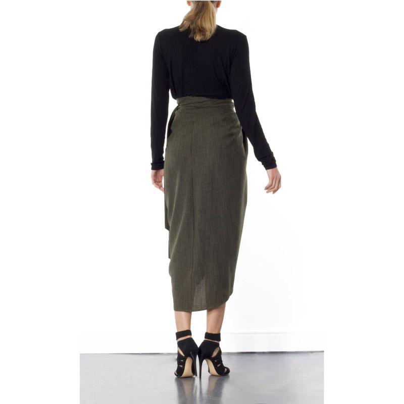 Blake Green Tulip Skirt image