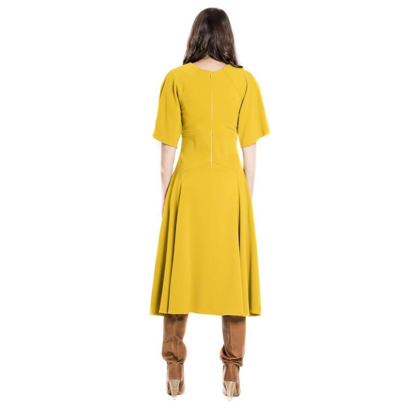 Corset Yellow Dress image