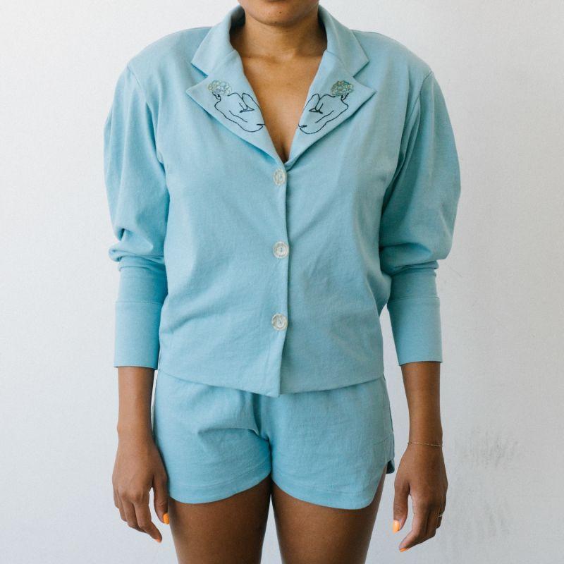 Ava Blouse & Shorts Set image