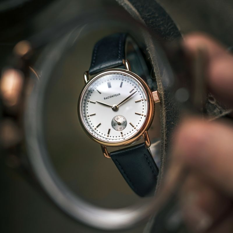 Earhart Rose Gold White - Camel Suede image