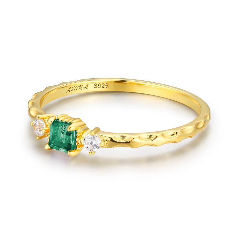Emerald Unity Ring image