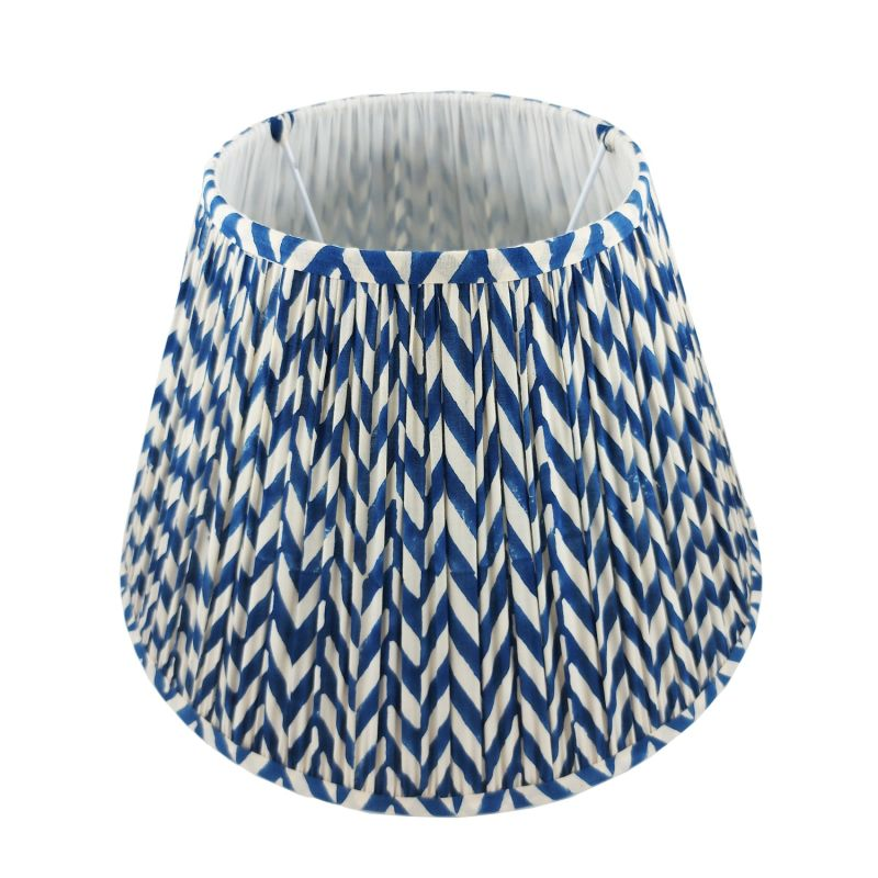 Magpie Webster Gathered Cotton Lampshade 40cm image