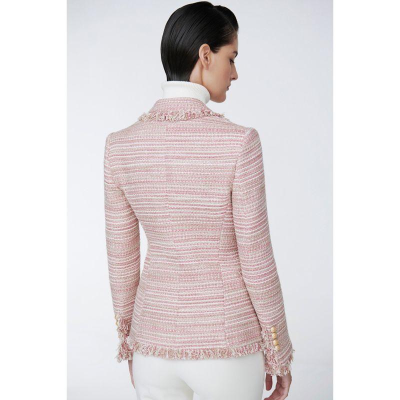 Pink Crossed Blazer Paris Chic image