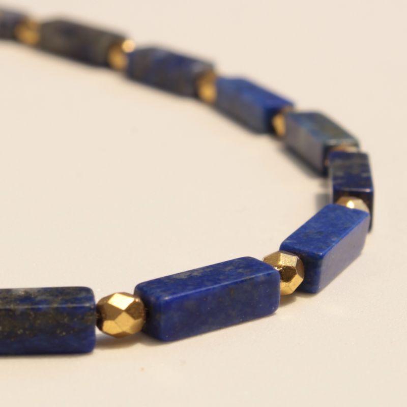 Lapis Lazuli Egyptian Necklace image