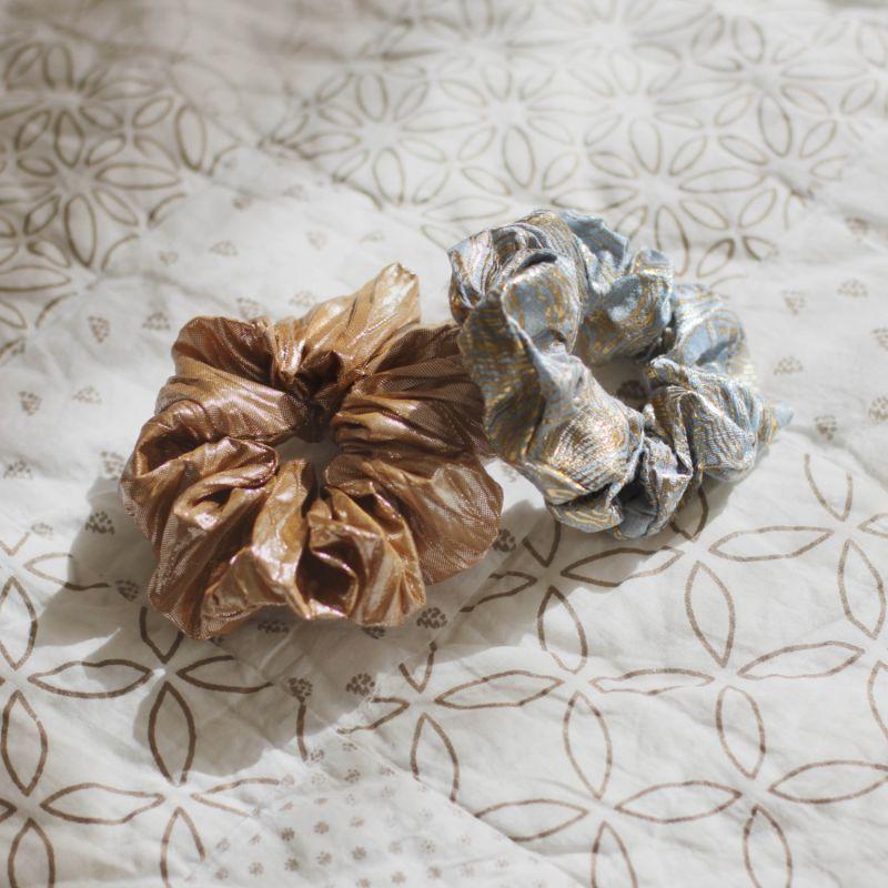 Gold Sparkle Scrunchie image