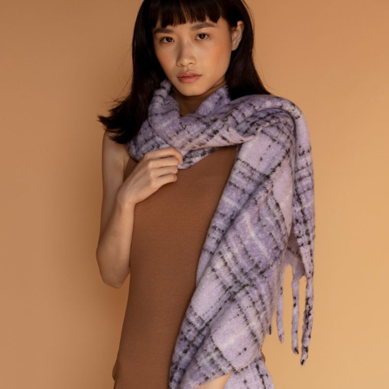 The Sapporo Scarf In Lavender Fields image