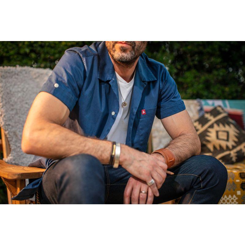 &Sons Classic White V-Neck T-Shirt image