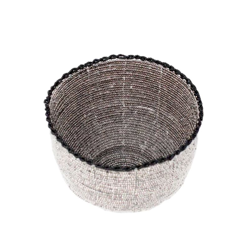 Beaded Bali Bowl - Silver image