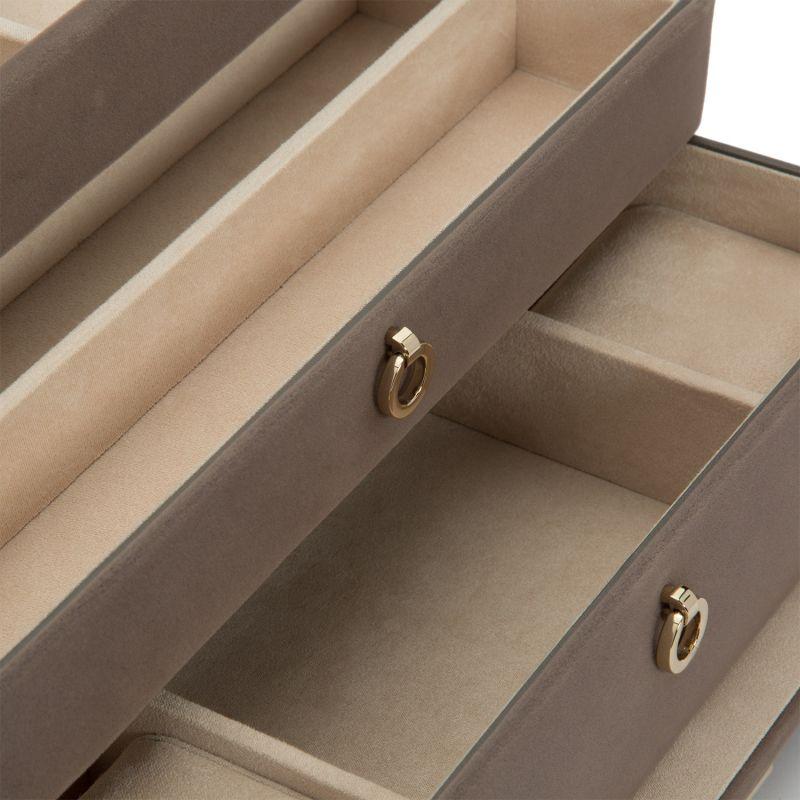 Zoe Medium Jewelry Box - Mink image