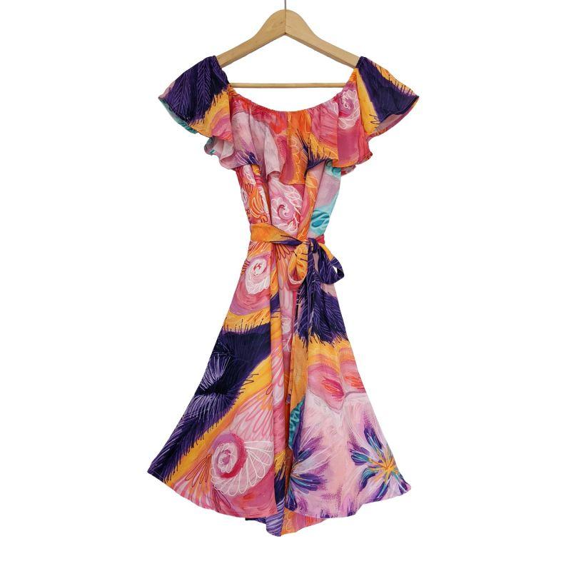 Off Shoulder Dress Spring Spiral image